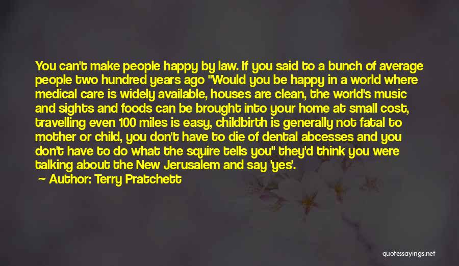The Best Thing About Travelling Quotes By Terry Pratchett