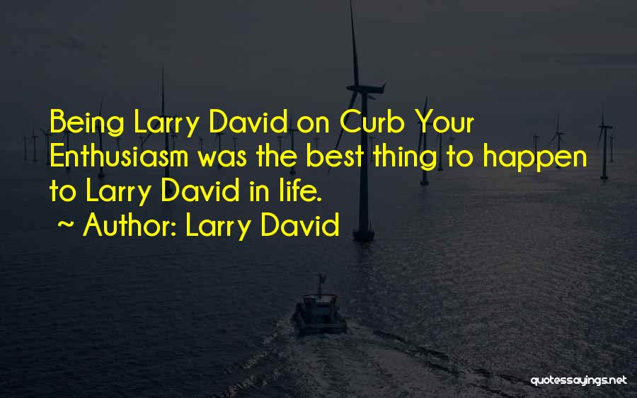 The Best Things Life Quotes By Larry David