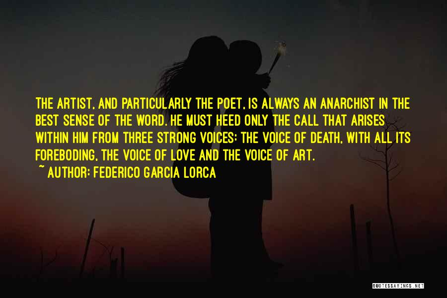 The Best Three Word Quotes By Federico Garcia Lorca