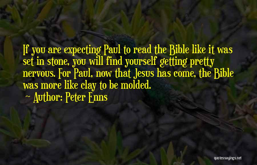 The Bible Jesus Read Quotes By Peter Enns