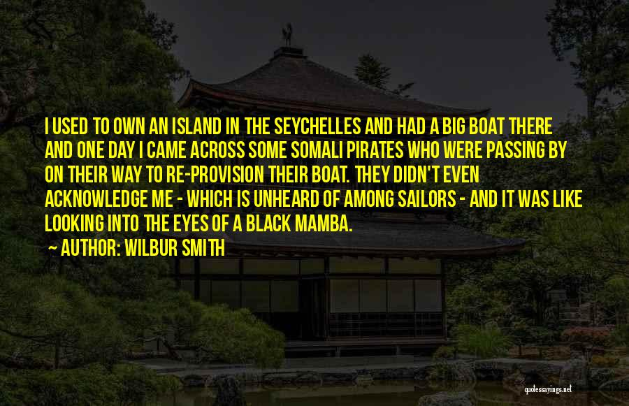 The Big Day Quotes By Wilbur Smith