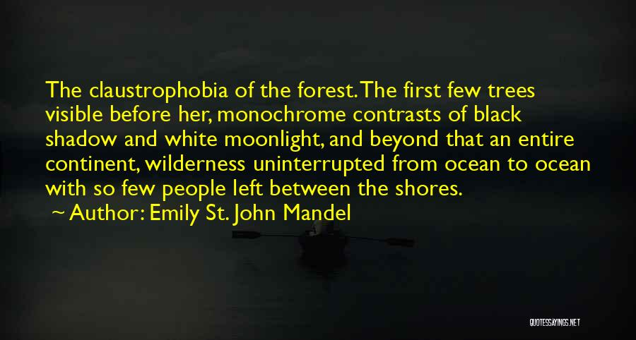 The Black Forest Quotes By Emily St. John Mandel