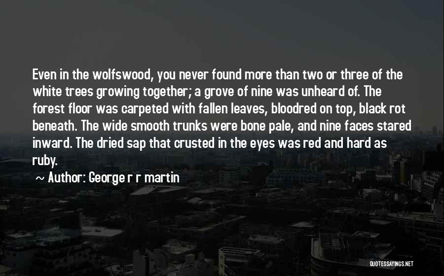 The Black Forest Quotes By George R R Martin