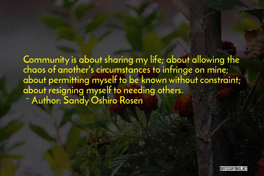 The Body Being Art Quotes By Sandy Oshiro Rosen