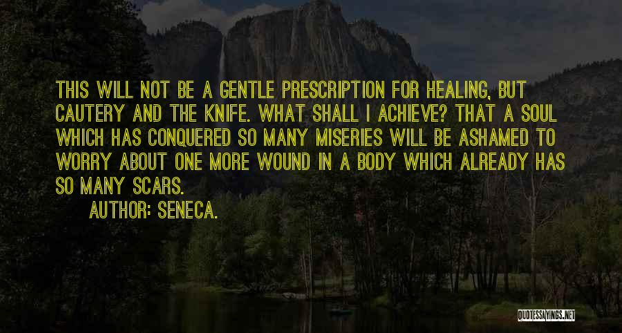 The Body Healing Itself Quotes By Seneca.