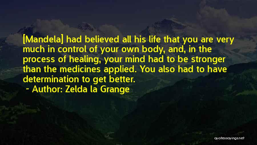 The Body Healing Itself Quotes By Zelda La Grange