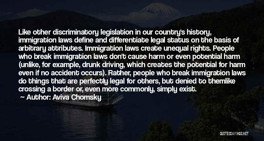 The Border Quotes By Aviva Chomsky