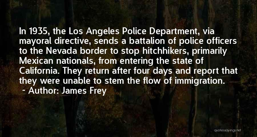 The Border Quotes By James Frey