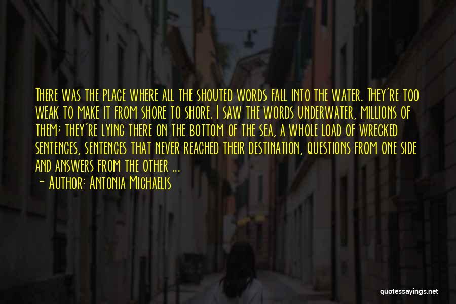 The Bottom Of The Sea Quotes By Antonia Michaelis