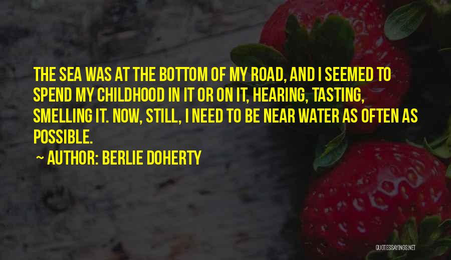 The Bottom Of The Sea Quotes By Berlie Doherty