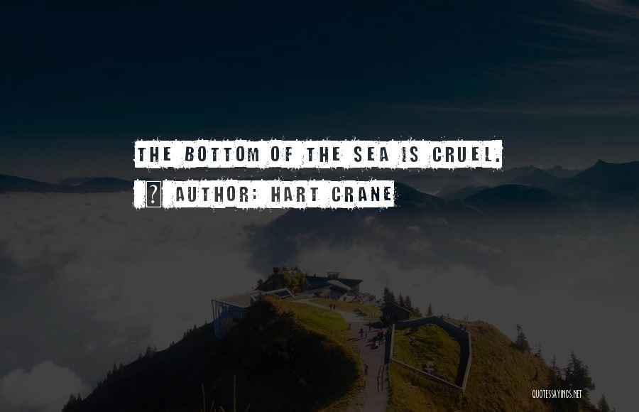 The Bottom Of The Sea Quotes By Hart Crane