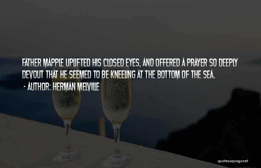 The Bottom Of The Sea Quotes By Herman Melville