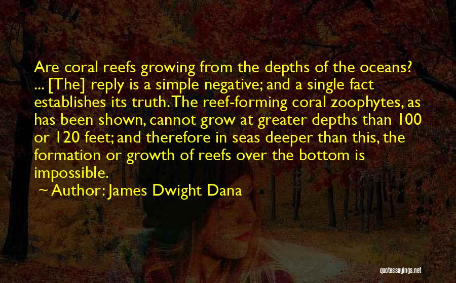 The Bottom Of The Sea Quotes By James Dwight Dana