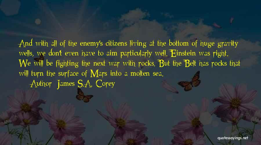 The Bottom Of The Sea Quotes By James S.A. Corey