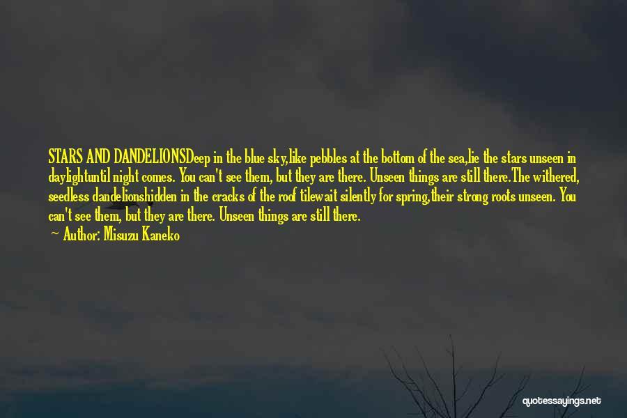 The Bottom Of The Sea Quotes By Misuzu Kaneko