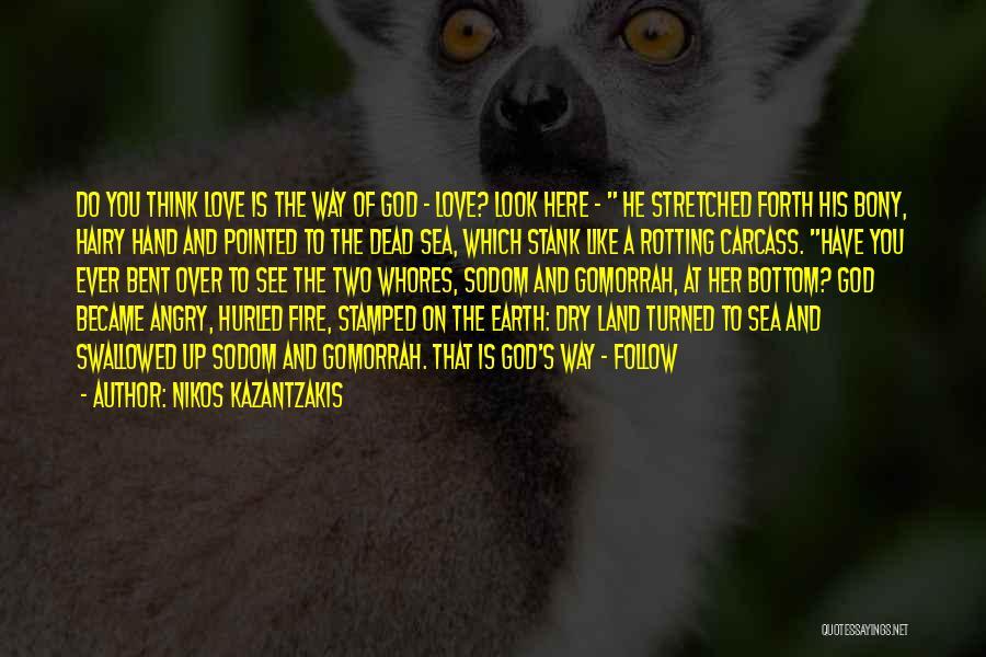 The Bottom Of The Sea Quotes By Nikos Kazantzakis