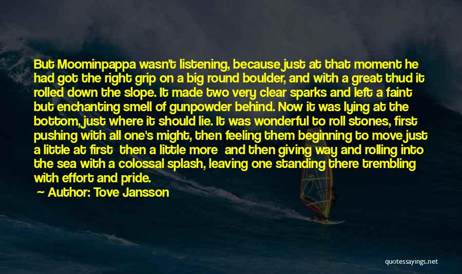 The Bottom Of The Sea Quotes By Tove Jansson