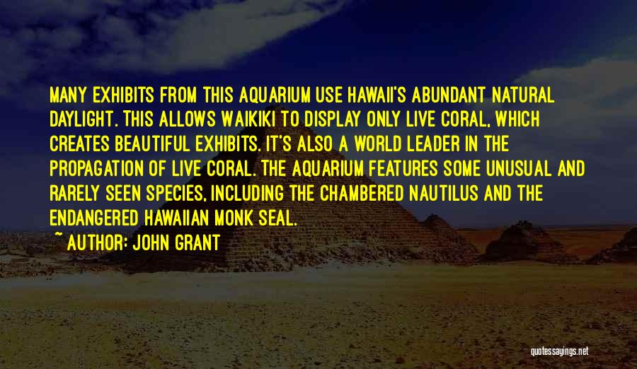The Chambered Nautilus Quotes By John Grant