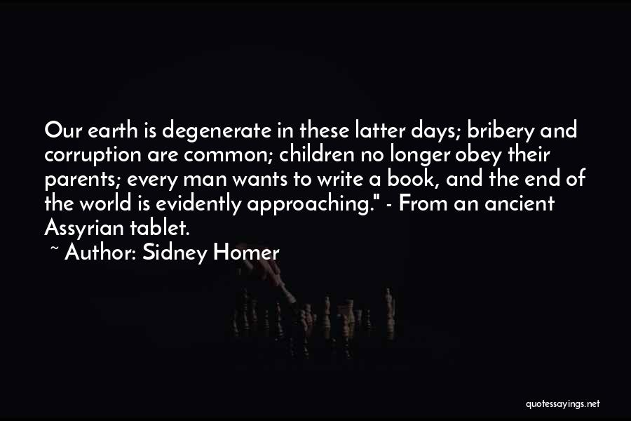 The Children's Homer Quotes By Sidney Homer