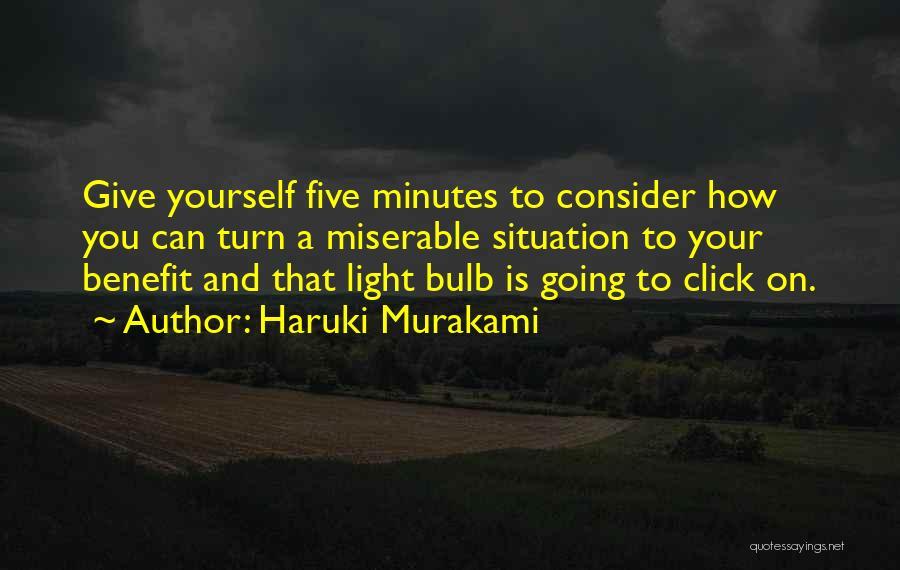 The Click Five Quotes By Haruki Murakami