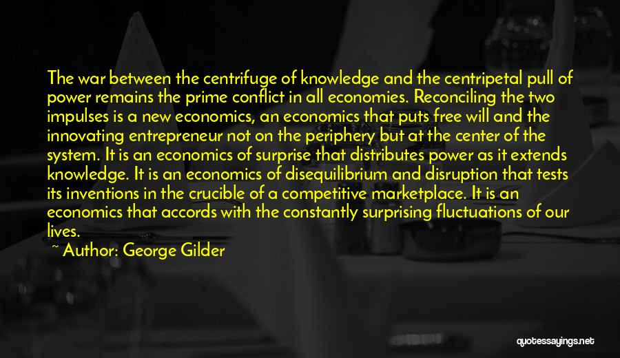 The Crucible Power Quotes By George Gilder