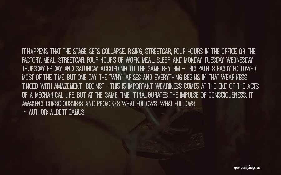 The Day Friday Quotes By Albert Camus