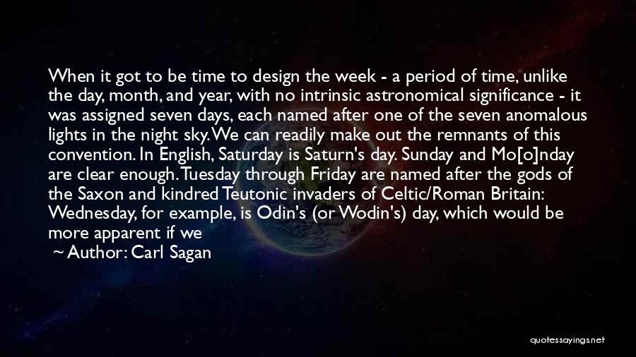 The Day Friday Quotes By Carl Sagan