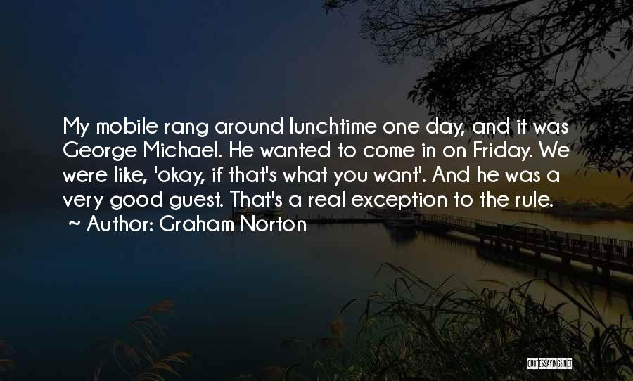 The Day Friday Quotes By Graham Norton