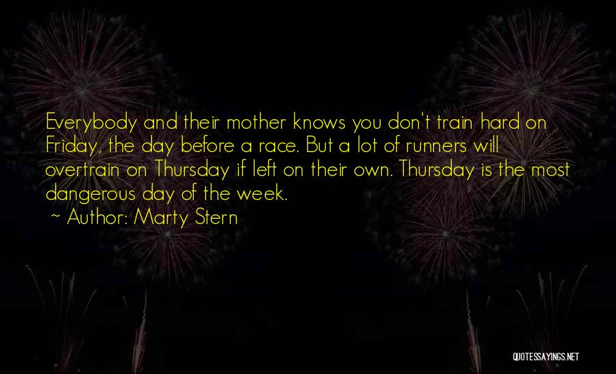 The Day Friday Quotes By Marty Stern