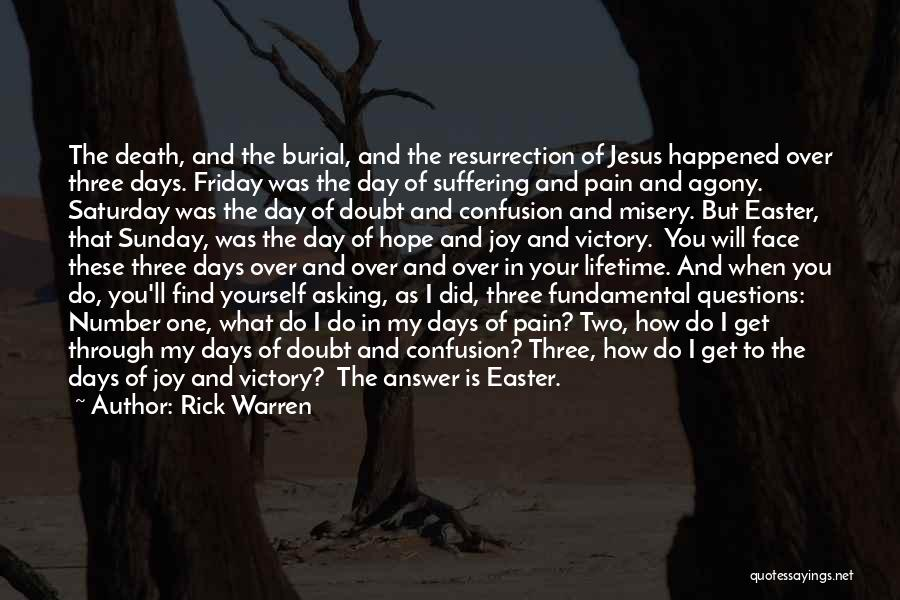 The Day Friday Quotes By Rick Warren