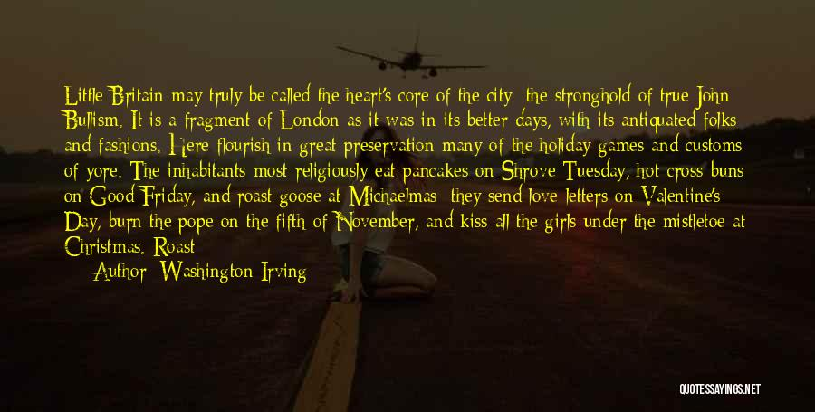 The Day Friday Quotes By Washington Irving