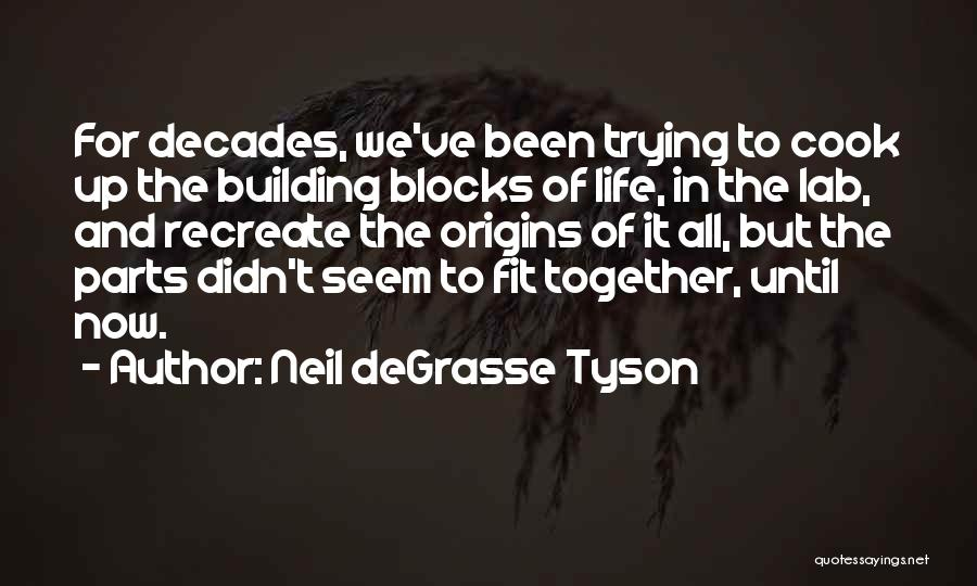 The Decades Of Life Quotes By Neil DeGrasse Tyson