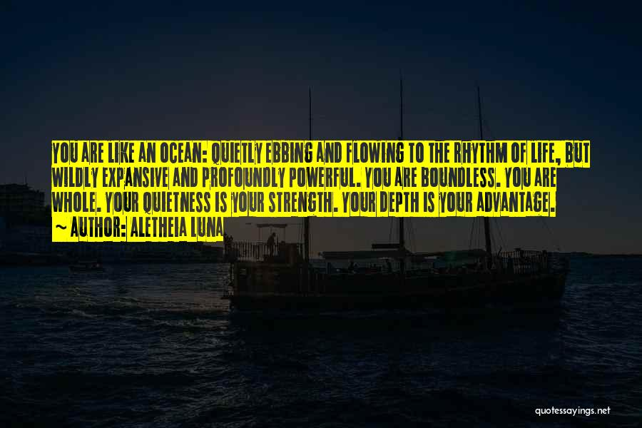 The Depth Of The Ocean Quotes By Aletheia Luna