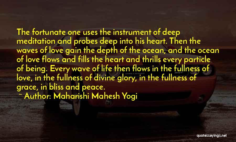The Depth Of The Ocean Quotes By Maharishi Mahesh Yogi
