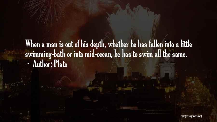 The Depth Of The Ocean Quotes By Plato