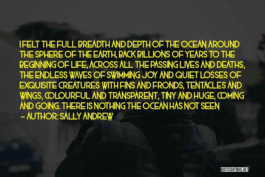 The Depth Of The Ocean Quotes By Sally Andrew