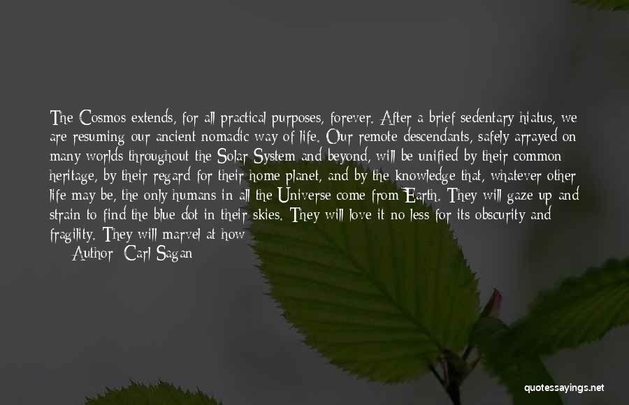 The Descendants Quotes By Carl Sagan