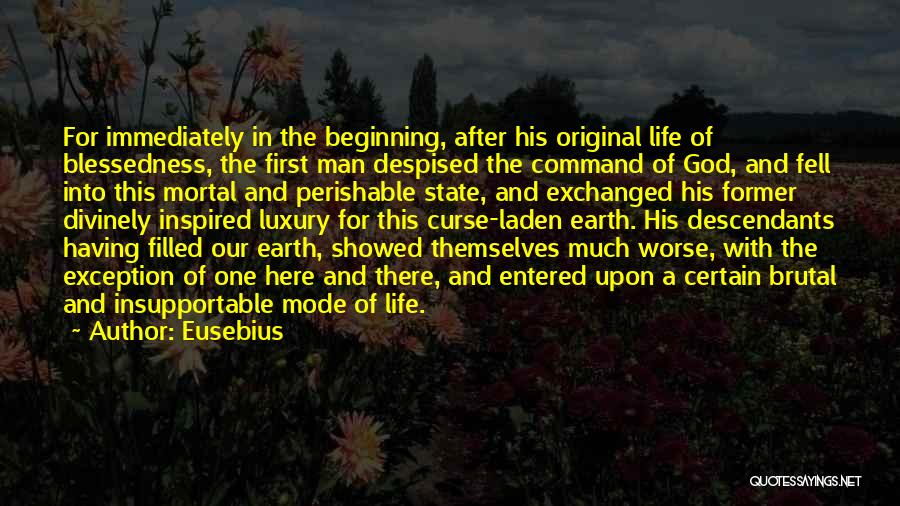 The Descendants Quotes By Eusebius