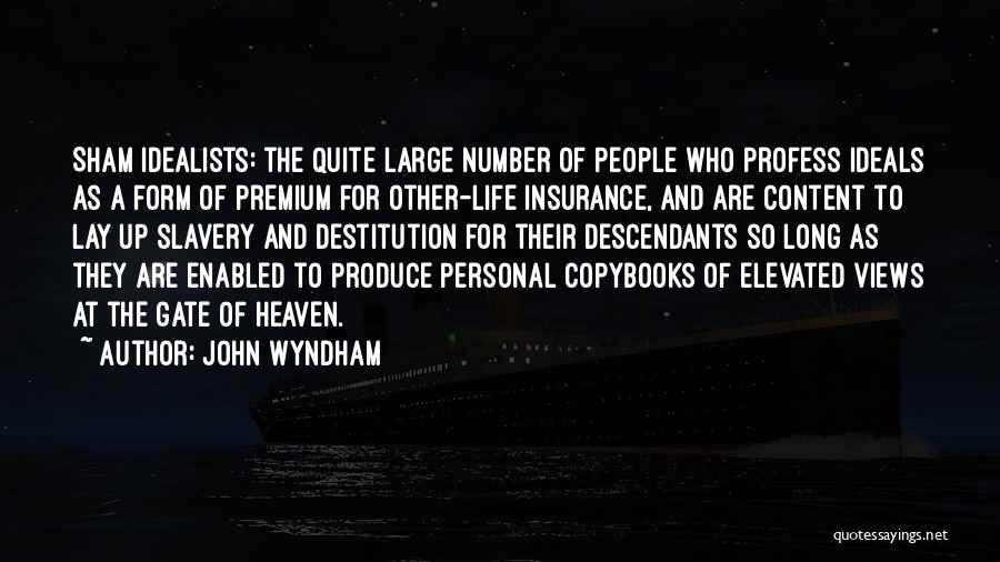 The Descendants Quotes By John Wyndham