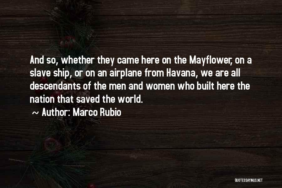 The Descendants Quotes By Marco Rubio