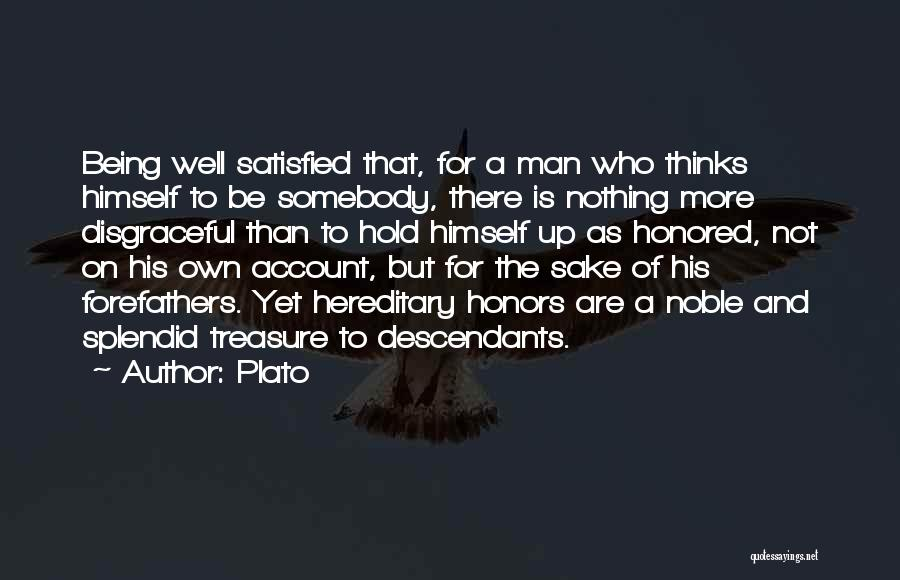The Descendants Quotes By Plato