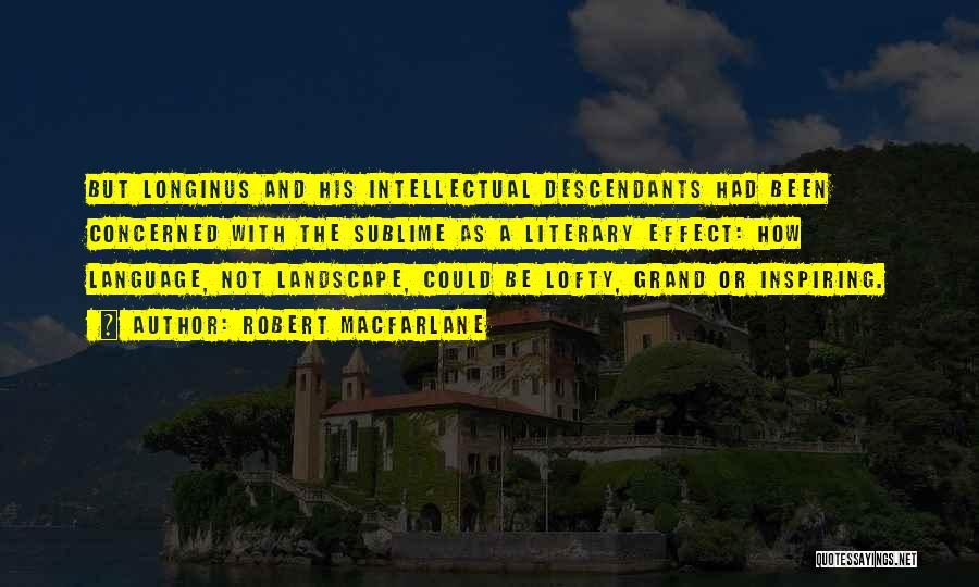 The Descendants Quotes By Robert Macfarlane