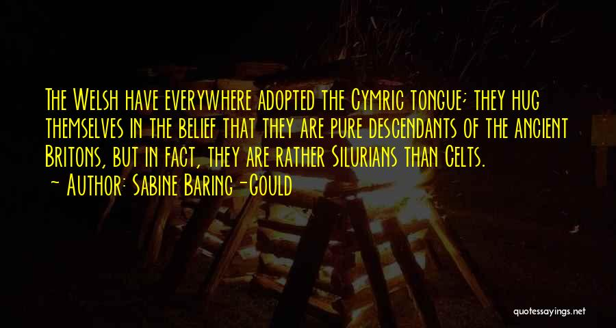 The Descendants Quotes By Sabine Baring-Gould