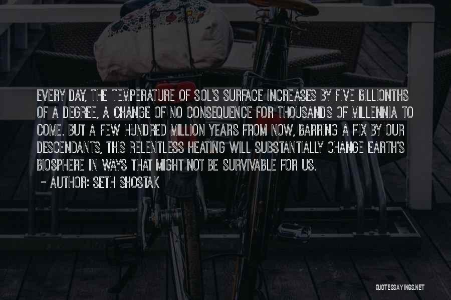 The Descendants Quotes By Seth Shostak