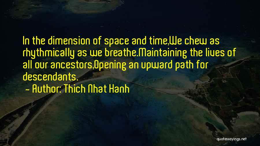 The Descendants Quotes By Thich Nhat Hanh