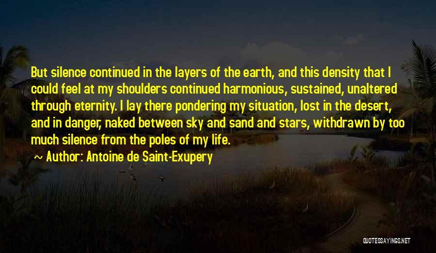 The Desert Sky Quotes By Antoine De Saint-Exupery