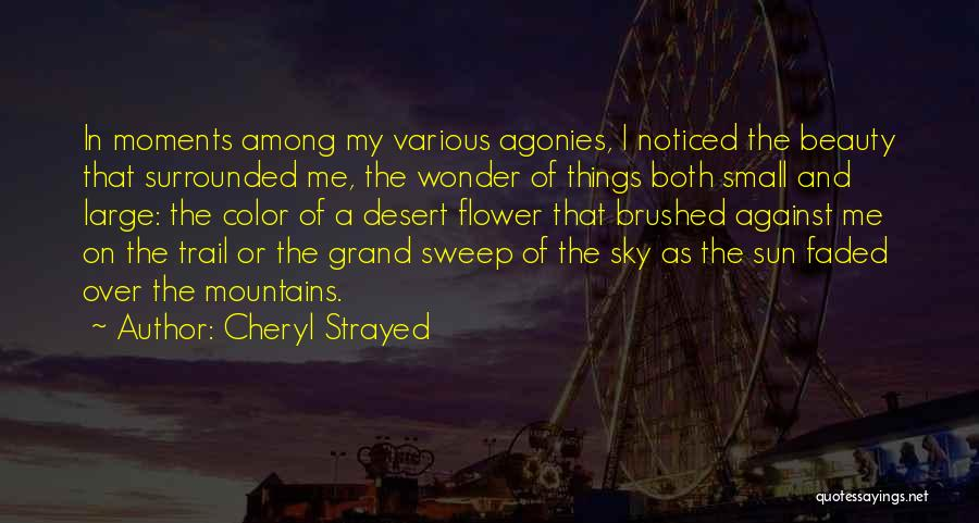 The Desert Sky Quotes By Cheryl Strayed