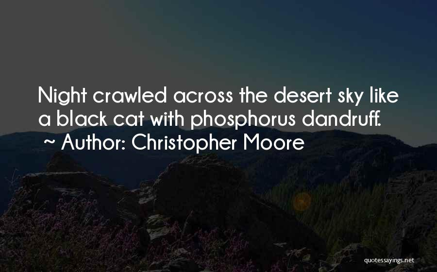 The Desert Sky Quotes By Christopher Moore