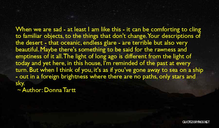 The Desert Sky Quotes By Donna Tartt