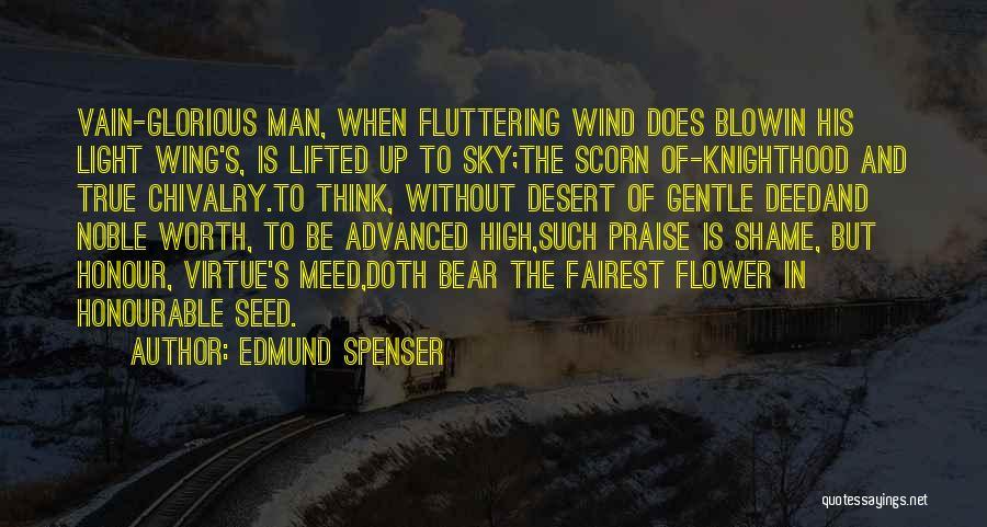 The Desert Sky Quotes By Edmund Spenser